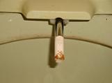 温水洗浄トイレのノズル(ビフォア)